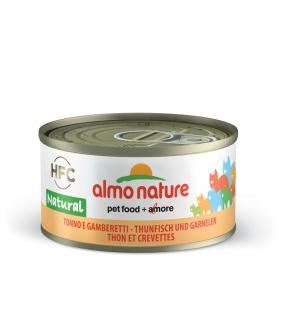 Консервы для Кошек с Тунцом и Креветками 75% мяса (Legend HFC Adult Cat Tuna&Shrimps) 9023H