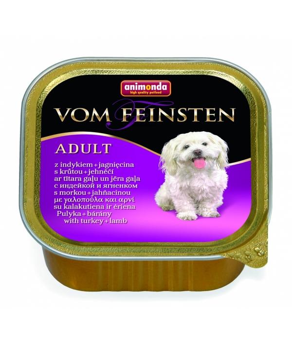 Консервы для собак c индейкой и ягненком (Vom Feinsten Classic) 82965/82611