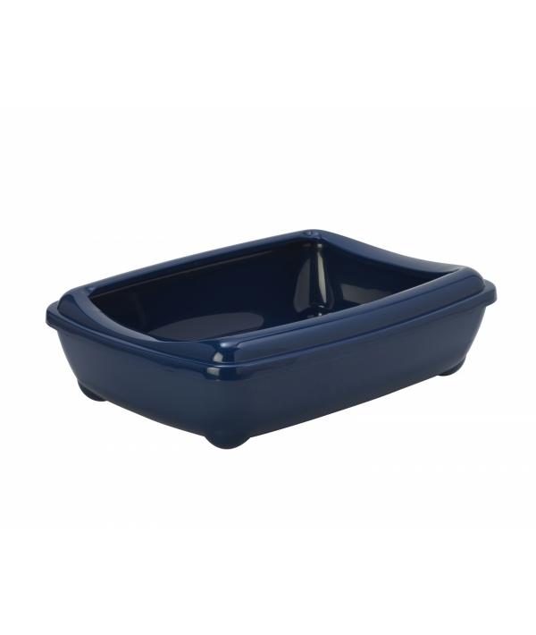 Туалет – лоток большой с рамкой artist large + rim, 57х43х15 jumbo черничный (Arist o tray with rim 57cm jumbo) MOD – C222 – 331.