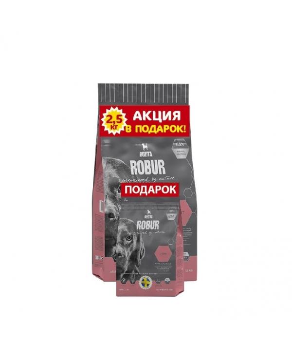 Robur для взрослых собак, склонных к набору веса (Light 19/08) 14142