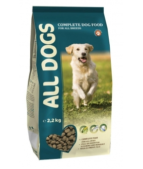 Полнорационный корм для взрослых собак (ALL DOGS)