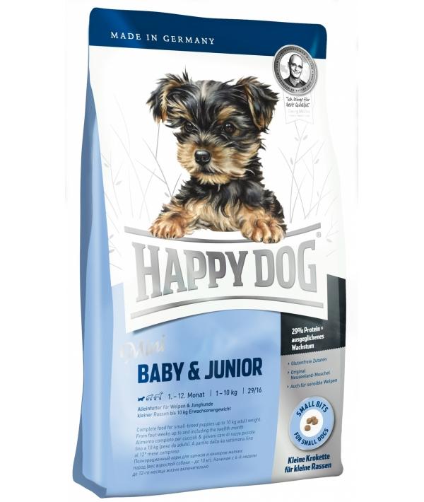 Суприм для щенков малых пород: до 9 – 12мес. (Mini baby Junior 29)