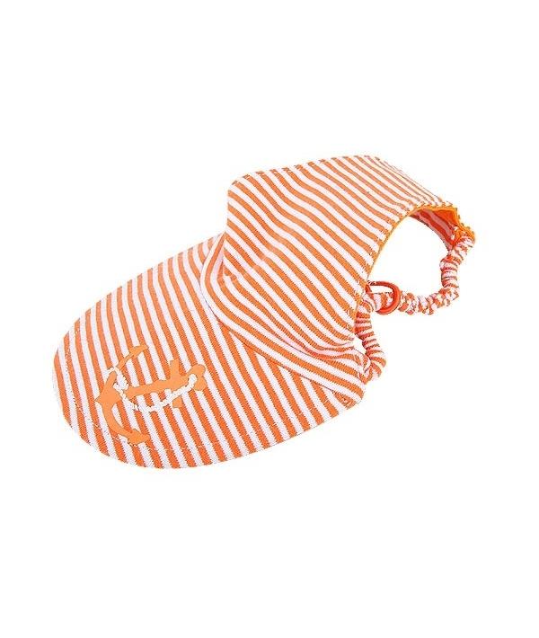 """Кепка на резинке в полоску """"Отпускник"""", оранжевый, размер L (OCEANIC II HAT/ORANGE/L) NAQA – CP7220 – OR – L"""