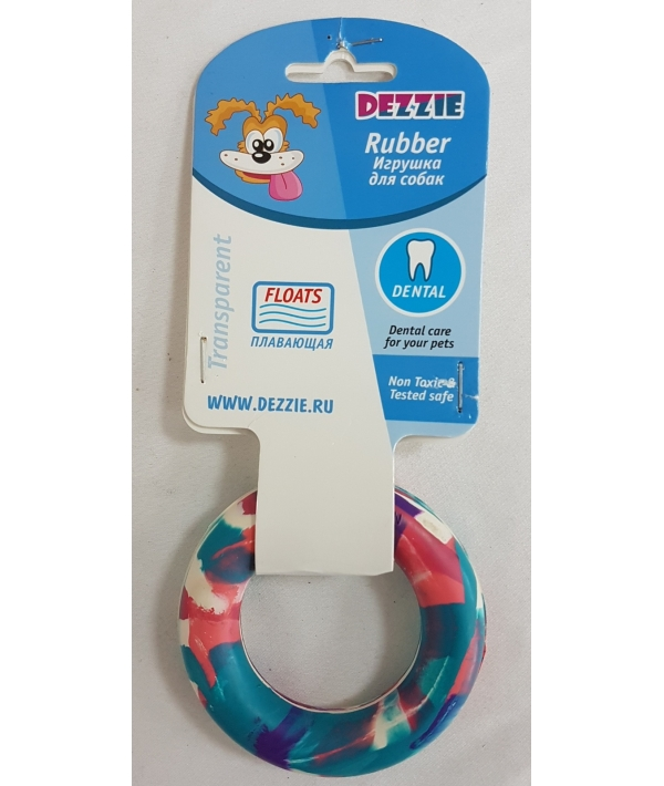 """Игрушка для собак """"Кольцо"""" для собак, 8,5см, резина 5638013"""