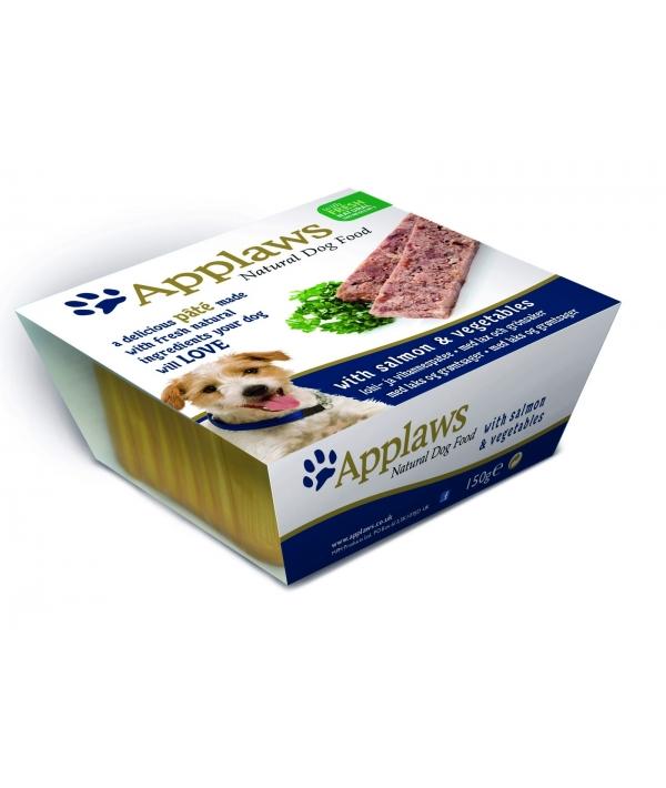 Паштет для Собак с Лососем и овощами (Dog Pate with Salmon & vegetables) 6254CE – A