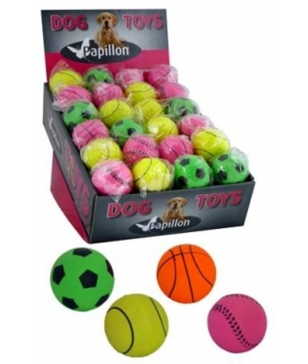 """Игрушка для собак """"Неоновый мяч"""", резина, 6см (Neon sponge balls) 140033"""
