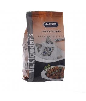 Для кошек – Мясное Ассорти – Сухой корм