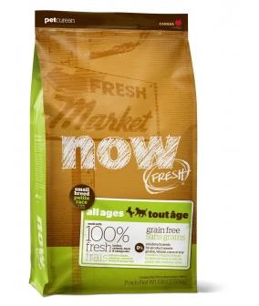 Беззерновой для Малых пород Всех возрастов с Индейкой, Уткой и овощами (Fresh Small Breed Recipe Grain Free 27/17)