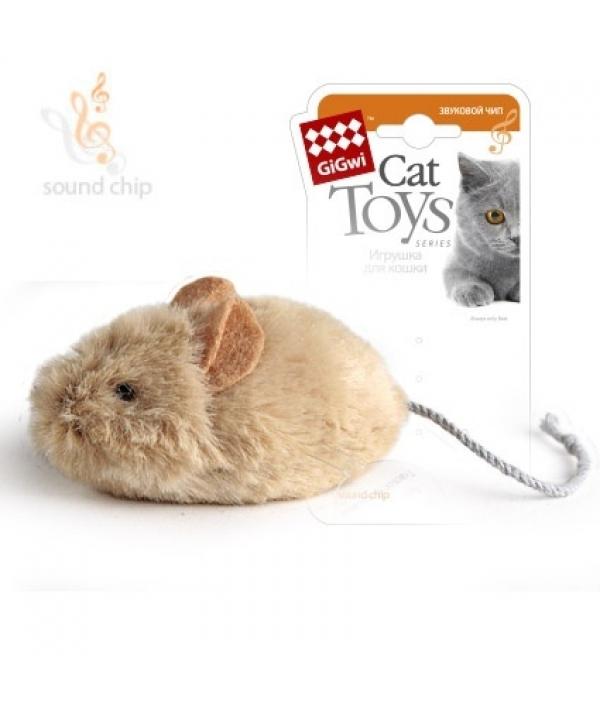 Игрушка для кошек Мышка со звуковым чипом (75217)50192