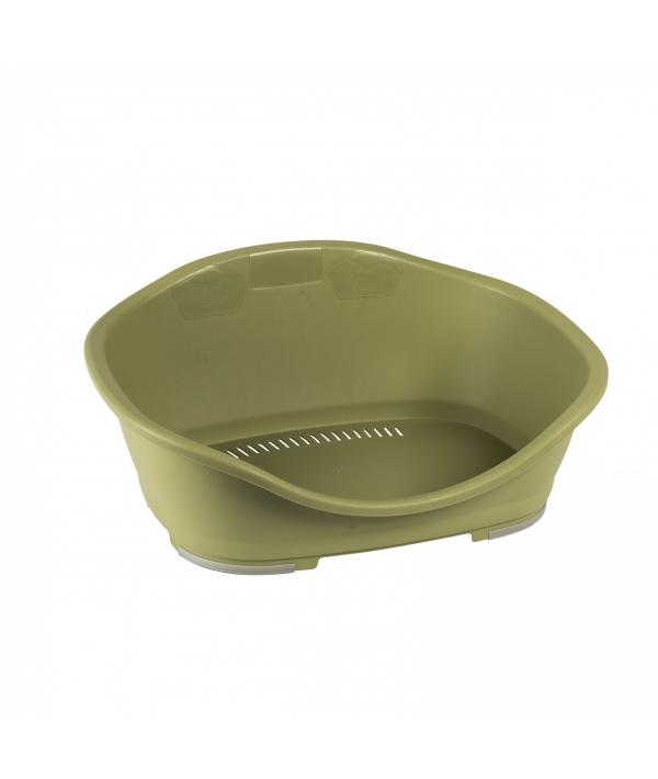 Пластиковый Лежак Sleeper 1: 56,5x42x24,2, зеленый (97819)