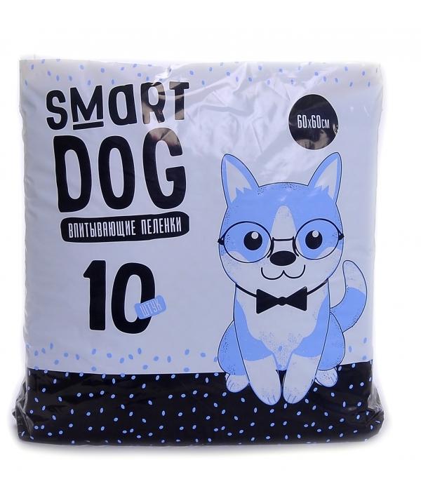Впитывающие пеленки для собак 60*60, 10 шт