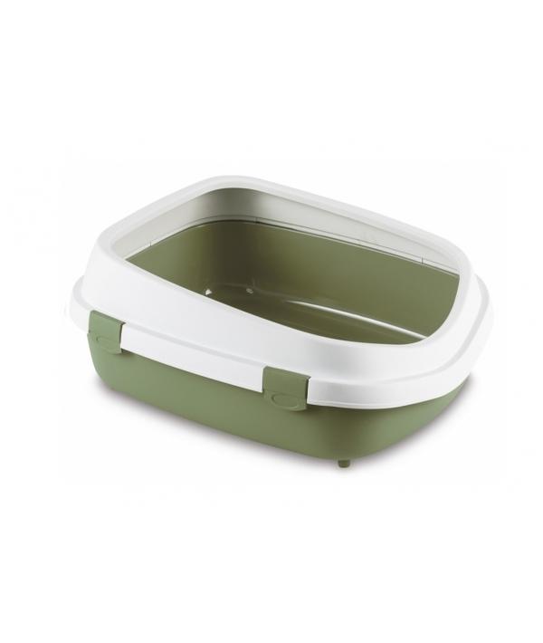 Туалет Queen с рамкой, зеленый, 55*71*24,5см (96852)