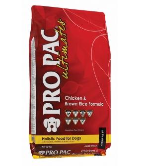 Для собак всех пород с курицей и коричневым рисом