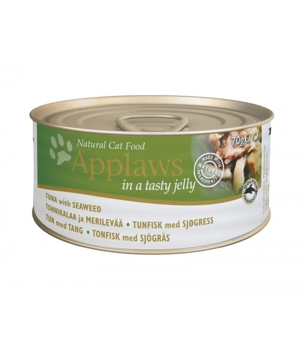 Кусочки в желе для Кошек с Тунцом и Морской капустой (Jelly Tuna & Seaweed) 1038CE – A