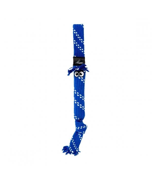 Игрушка веревочная шуршащая SCRUBZ , средняя, синий (SCRUBZ ROPE TUG TOY SM) SC03B