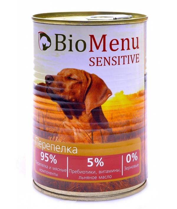 Гипоаллергенные консервы для собак Перепелка (74053/47536)
