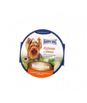 Нежный мясной паштет для собак – утка и курица