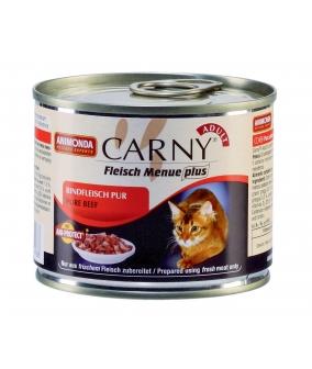 Консервы для кошек с отборной говядиной (Carny Adult) 83555/001/83707