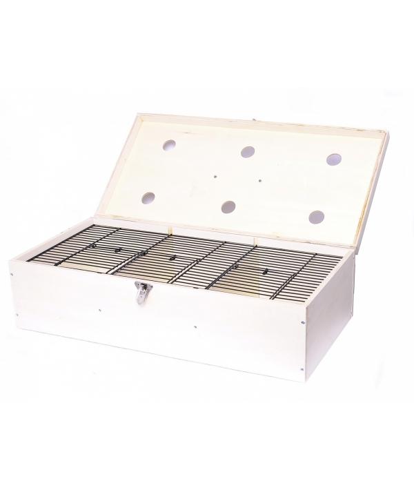 Деревянная переноска для птиц 60/30/16 см (Transportcase birds wood 60/30/16 cm) 14815