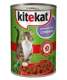 Консервы для кошек с печенью 6528