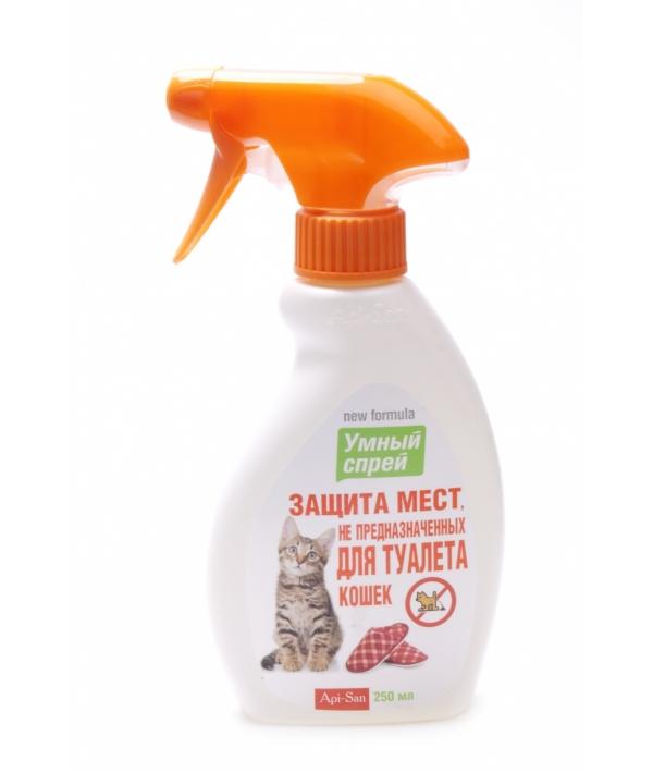 25296 Умный Спрей защита мест НЕ предназначенных для туалета кошек