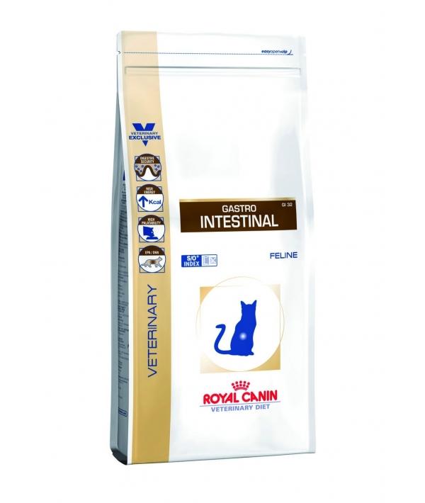 Для кошек при нарушении пищеварения, лечение ЖКТ (Gastro Intestinal GI–32) 733004/ 733104