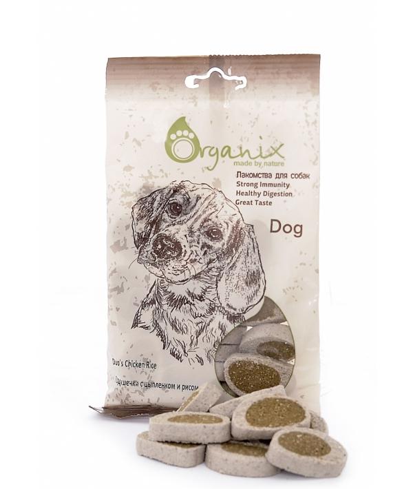 Лакомства для собак Подушечки с цыпленком и рисом. (Duo's Chicken Rice) D5028