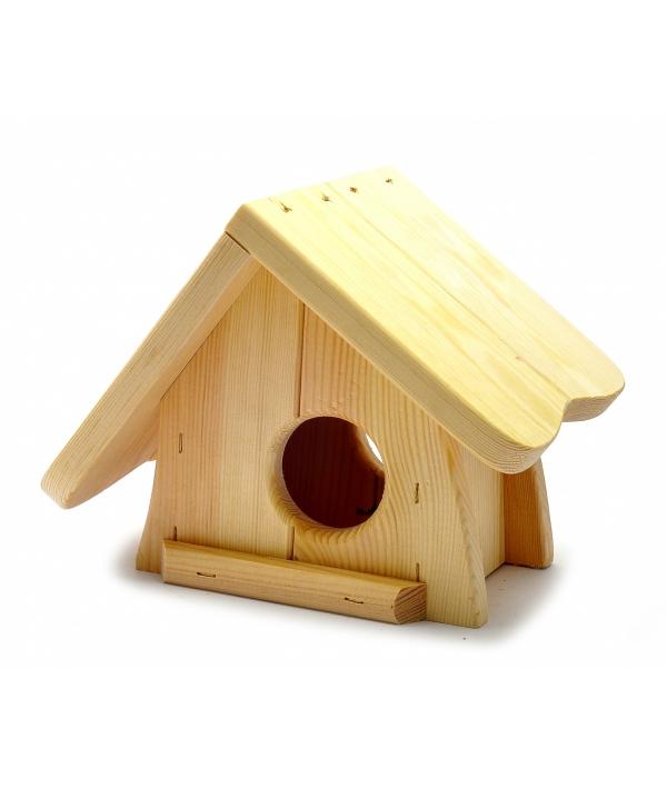 """Деревянный домик для грызунов """"Лолли"""", 18*18*17 см (Rodent house wood lolly) 3447"""