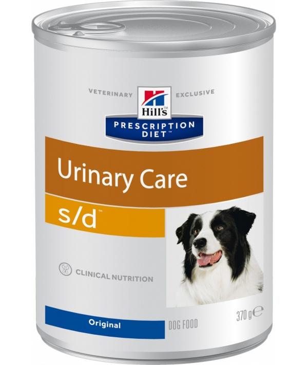 Консервы S/D (доллар) для собак – Лечение заболеваний мочевыводящих путей (Canine S/D) 8015U