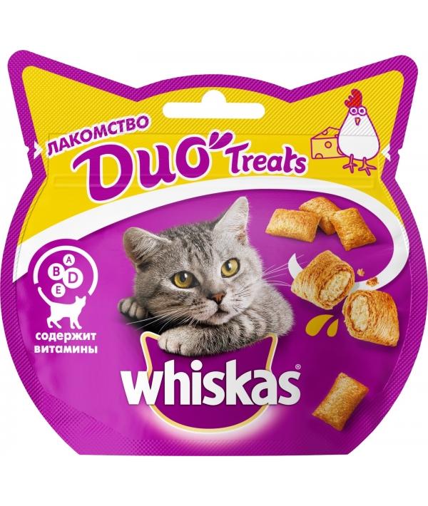 Лакомство для кошек DUO с курицей и сыром 10167960