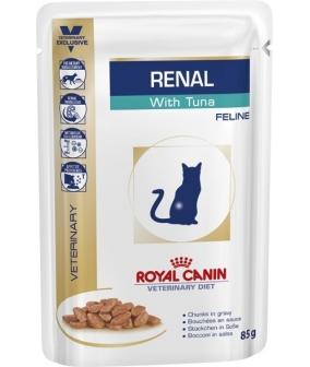 Кусочки в соусе для кошек при лечении почек, из тунца (Renal S/O) 795001/ 795101