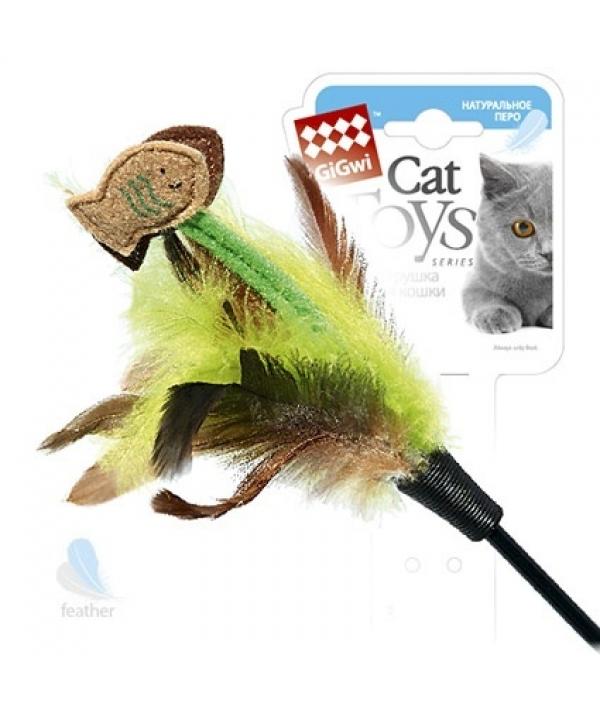 Игрушка для кошек Дразнилка с рыбками на длинной палке (75017)50097