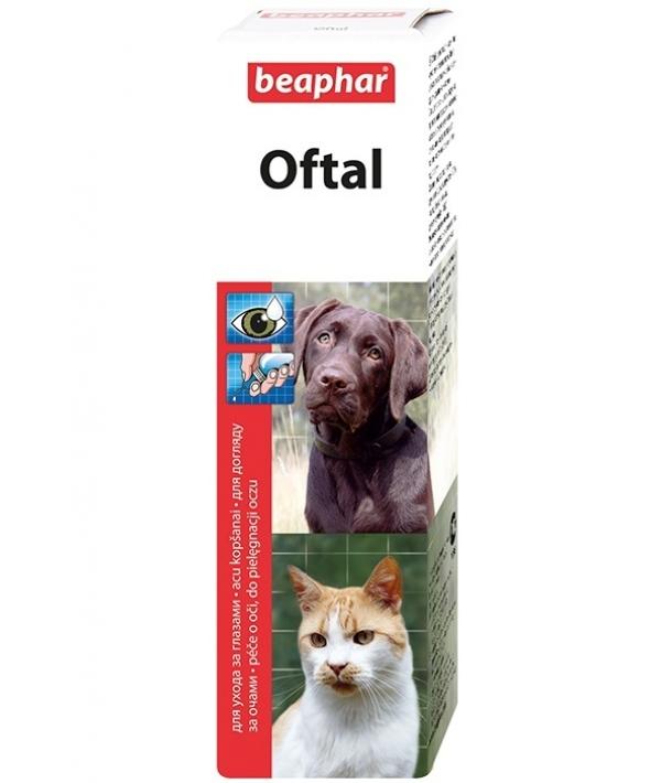 Лосьон для ухода за глазами животных (Oftal) 12547