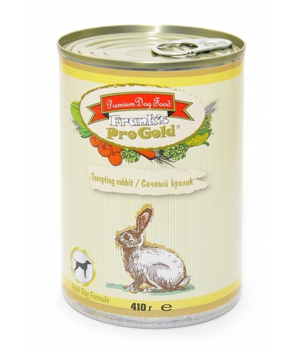 """Консервы для собак """"Сочный кролик"""" (Tempting rabbit Adult Dog Recipe)"""