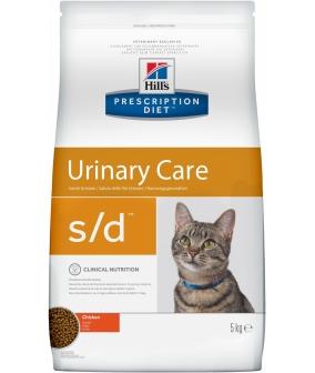 S/d для кошек – Лечение мочекамен. болезни (МКБ) 9189U