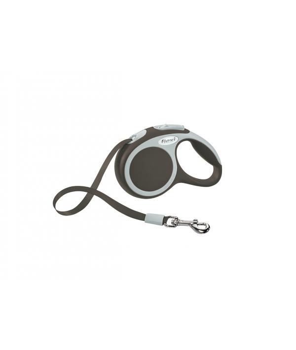 Рулетка – ремень для собак до 12кг, 3м, коричневая (Vario XS tape 3m brown)