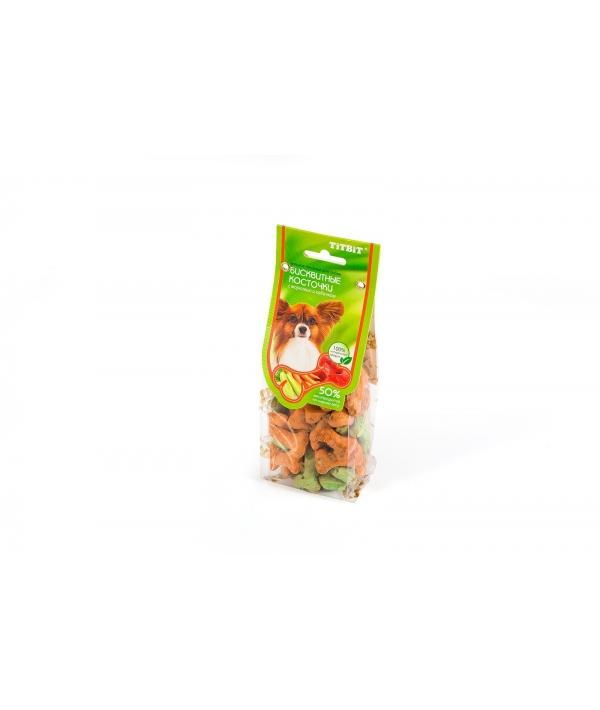 Бисквитные косточки с морковью и кабачком (6344)