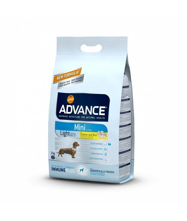 Для собак малых пород с курицей и рисом, контроль веса (Mini Light) 503319