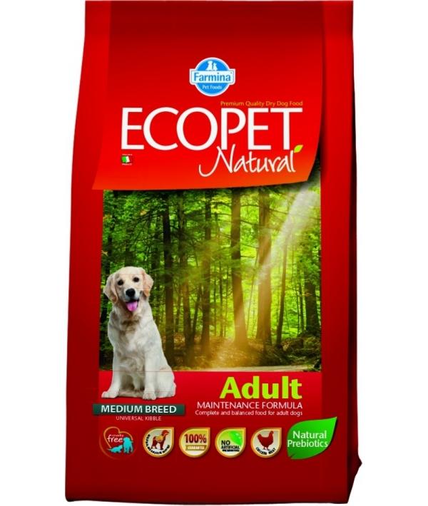 Ecopet Сухой корм для собак с курицей 9011