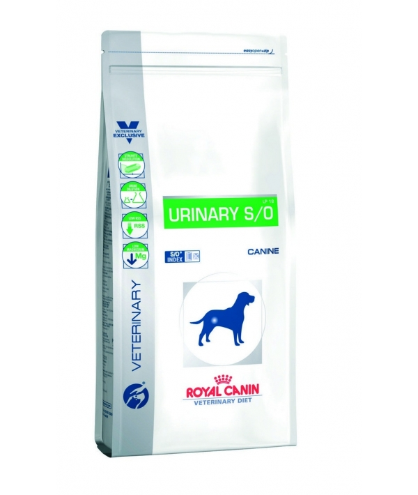 Для собак при мочекамен. болезни, струвиты, оксалаты, 14 кг (Urinary S/O) 608140