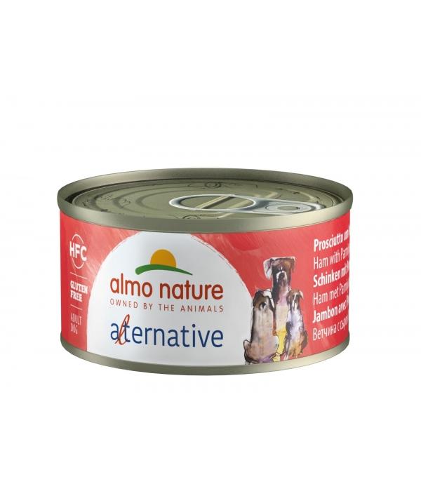 """Консервы для собак """"Ветчина и пармезан"""", 55% мяса (HFC ALMO NATURE ALTERNATIVE DOGS HAM AND PARMESAN) 5463"""
