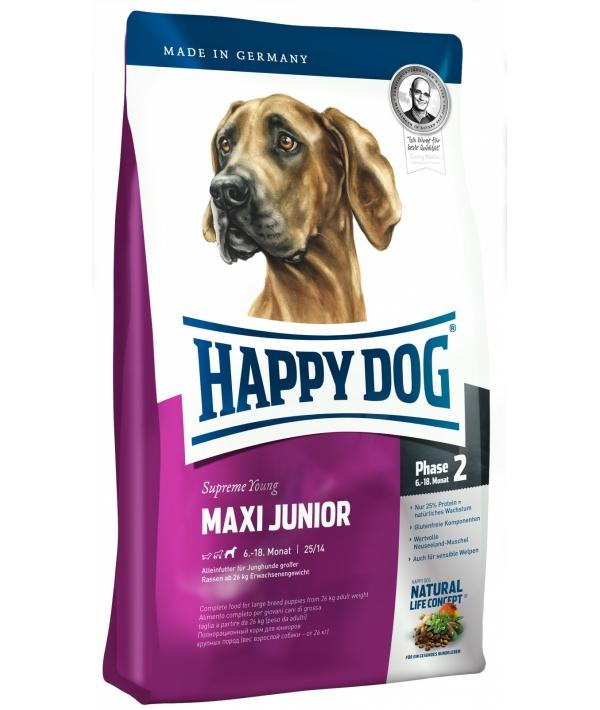 Суприм для щенков крупных пород: 6 – 18 мес. (Maxi Junior Gr – 23)