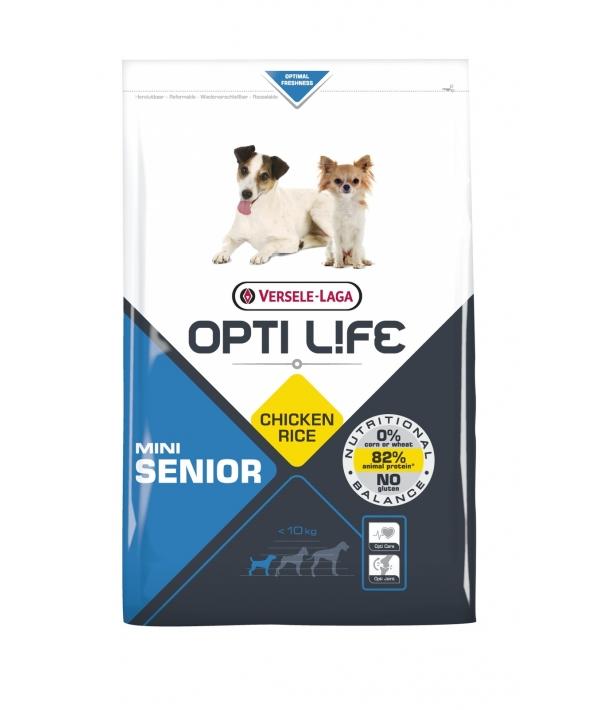 Для пожилых собак малых пород с курицей (Opti Life Senior Mini) 431159