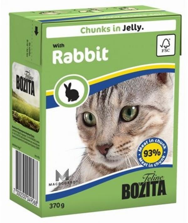 Кусочки в ЖЕЛЕ для кошек с кроликом (Rabbit)