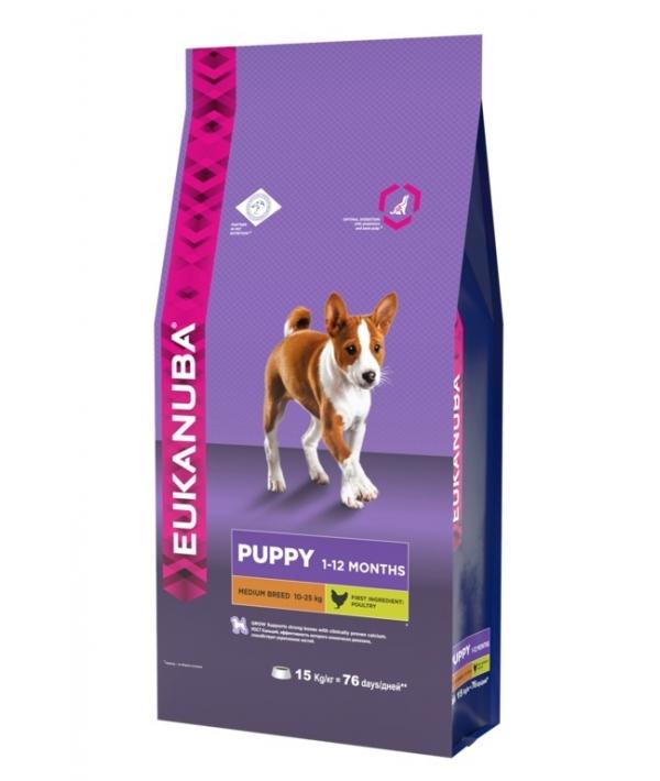 Для щенков средних пород с курицей (Puppy & Junior Medium breed) 10137713