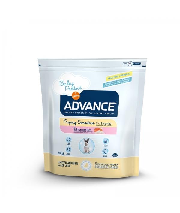 Для щенков с чувствительным пищеварением: лосось и рис (Puppy Sensitive) 500933