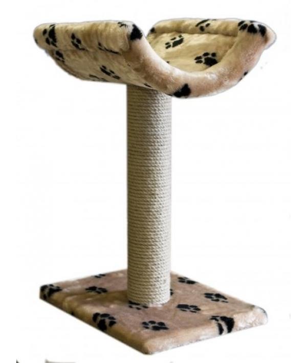 Когтеточка – Лежанка, джут, 40*42*60см (8151)