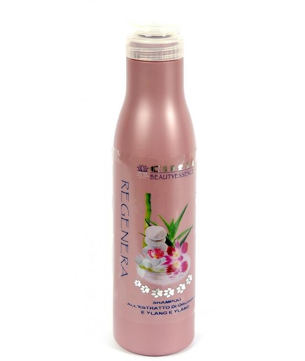 Восстанавливающий шампунь для собак и кошек с экстрактом орхидеи и иланг – иланга (Regenera shampoo) PCIV044