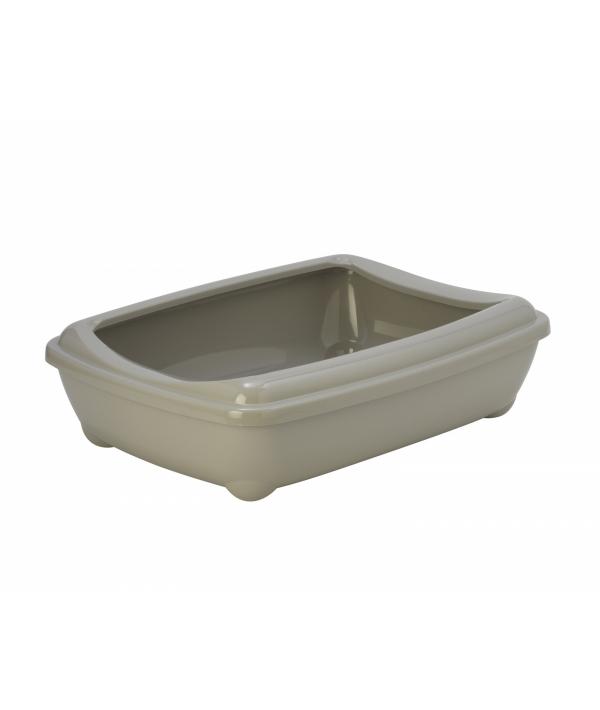 Туалет – лоток большой с рамкой artist large + rim, 57х43х15 jumbo теплый серый (Arist o tray with rim 57cm jumbo) MOD – C222 – 330.