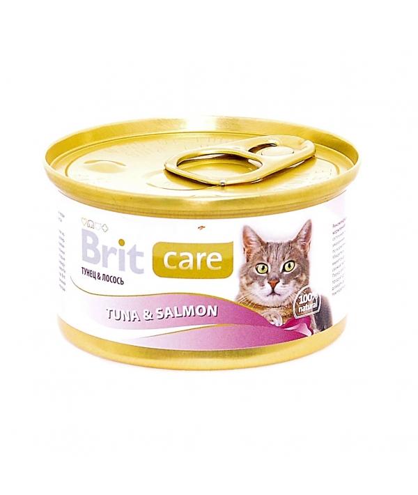 Консервы для кошек с тунцом и лососем (Tuna&Salmon) 100060